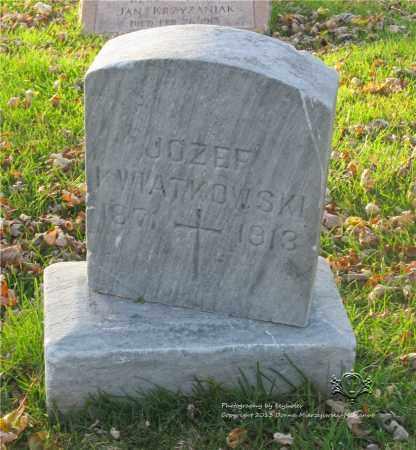 KWIATKOWSKI, JOZEF - Lucas County, Ohio | JOZEF KWIATKOWSKI - Ohio Gravestone Photos