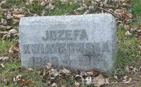 ZYCHOWICZ KWIATKOWSKI, JOZEFA - Lucas County, Ohio | JOZEFA ZYCHOWICZ KWIATKOWSKI - Ohio Gravestone Photos