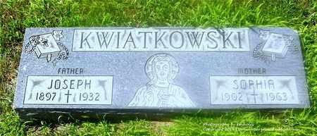 SCZEZEPANIAK KWIATKOWSKI, SOPHIA - Lucas County, Ohio | SOPHIA SCZEZEPANIAK KWIATKOWSKI - Ohio Gravestone Photos
