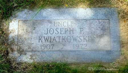 KWIATKOWSKI, JOSEPH P. - Lucas County, Ohio | JOSEPH P. KWIATKOWSKI - Ohio Gravestone Photos