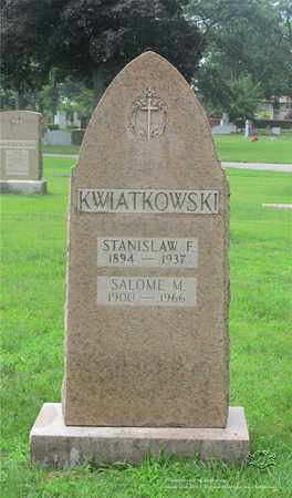 KWIATKOWSKI, STANISLAW F. - Lucas County, Ohio | STANISLAW F. KWIATKOWSKI - Ohio Gravestone Photos
