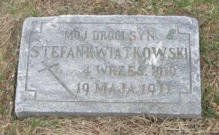 KWIATKOWSKI, STEFAN - Lucas County, Ohio | STEFAN KWIATKOWSKI - Ohio Gravestone Photos