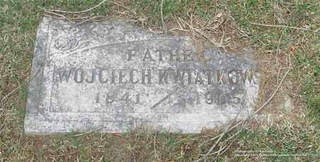KWIATKOWSKI, WOJCIECH - Lucas County, Ohio | WOJCIECH KWIATKOWSKI - Ohio Gravestone Photos