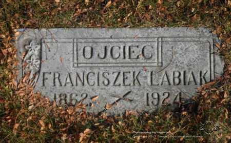 LABIAK, FRANCISZEK - Lucas County, Ohio | FRANCISZEK LABIAK - Ohio Gravestone Photos