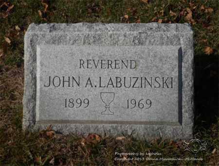 LABUZINSKI, JOHN A. - Lucas County, Ohio | JOHN A. LABUZINSKI - Ohio Gravestone Photos