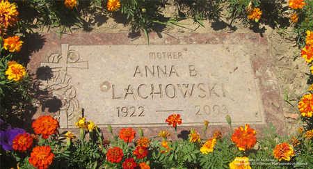 LACHOWSKI, ANNA B. - Lucas County, Ohio | ANNA B. LACHOWSKI - Ohio Gravestone Photos