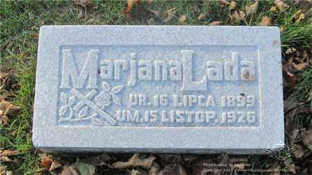 LADA, MARYJANA - Lucas County, Ohio | MARYJANA LADA - Ohio Gravestone Photos