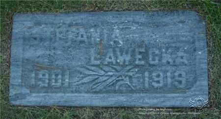 LAWECKA, STEFANIA - Lucas County, Ohio | STEFANIA LAWECKA - Ohio Gravestone Photos