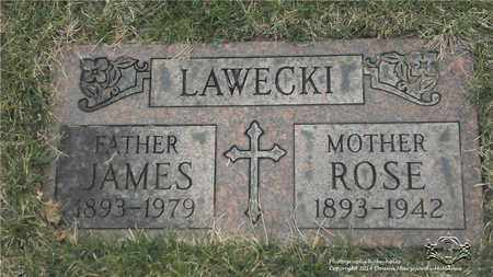LAWECKI, JAMES - Lucas County, Ohio | JAMES LAWECKI - Ohio Gravestone Photos