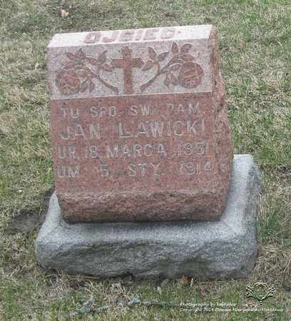 LAWICKI, JAN - Lucas County, Ohio | JAN LAWICKI - Ohio Gravestone Photos