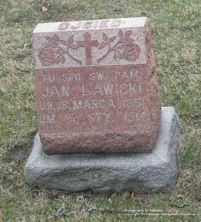 LAWICKI, JAN - Lucas County, Ohio   JAN LAWICKI - Ohio Gravestone Photos