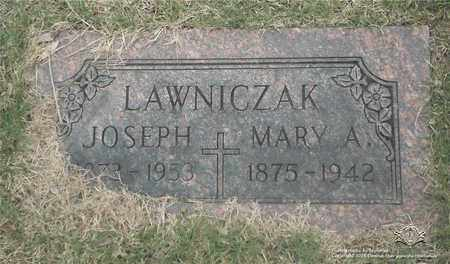LAWNICZAK, JOSEPH - Lucas County, Ohio | JOSEPH LAWNICZAK - Ohio Gravestone Photos