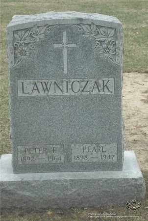 LAWNICZAK, PEARL - Lucas County, Ohio | PEARL LAWNICZAK - Ohio Gravestone Photos