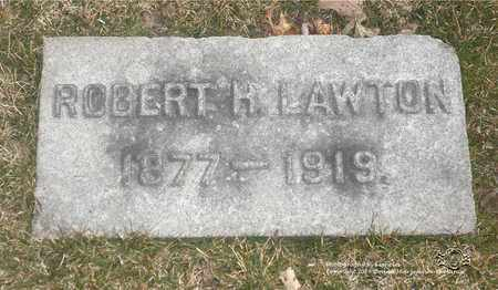 LAWTON, ROBERT H. - Lucas County, Ohio | ROBERT H. LAWTON - Ohio Gravestone Photos