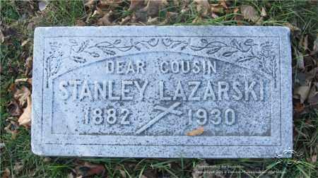 LAZARSKI, STANLEY - Lucas County, Ohio | STANLEY LAZARSKI - Ohio Gravestone Photos