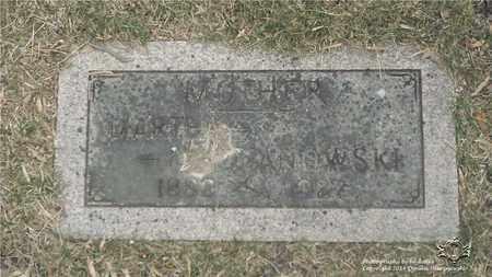 LEDZIANOWSKI, MARTHA - Lucas County, Ohio | MARTHA LEDZIANOWSKI - Ohio Gravestone Photos