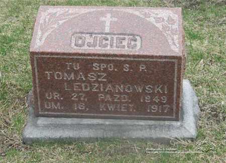 LEDZIANOWSKI, TOMASZ - Lucas County, Ohio | TOMASZ LEDZIANOWSKI - Ohio Gravestone Photos