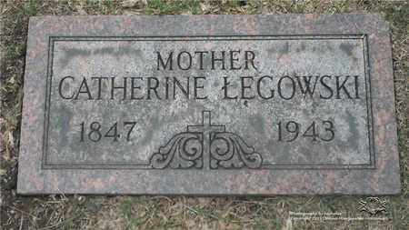 LEGOWSKI, CATHERINE - Lucas County, Ohio | CATHERINE LEGOWSKI - Ohio Gravestone Photos