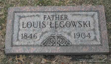 LEGOWSKI, LOUIS - Lucas County, Ohio   LOUIS LEGOWSKI - Ohio Gravestone Photos