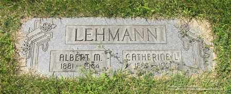 LEHMANN, CATHERINE L. - Lucas County, Ohio | CATHERINE L. LEHMANN - Ohio Gravestone Photos