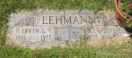 LEHMANN, MADELINE E. - Lucas County, Ohio | MADELINE E. LEHMANN - Ohio Gravestone Photos