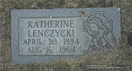 LENCZYCKI, KATHERINE - Lucas County, Ohio | KATHERINE LENCZYCKI - Ohio Gravestone Photos