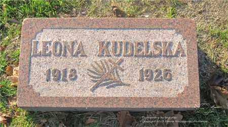 KUDELSKA, LEONA - Lucas County, Ohio | LEONA KUDELSKA - Ohio Gravestone Photos