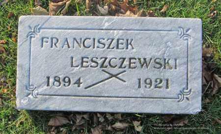 LESZCZEWSKI, FRANCISZEK - Lucas County, Ohio | FRANCISZEK LESZCZEWSKI - Ohio Gravestone Photos