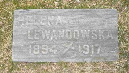 DOMINIAK LEWANDOWSKA, HELENA - Lucas County, Ohio | HELENA DOMINIAK LEWANDOWSKA - Ohio Gravestone Photos