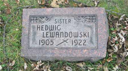 LEWANDOWSKI, HEDWIG - Lucas County, Ohio | HEDWIG LEWANDOWSKI - Ohio Gravestone Photos