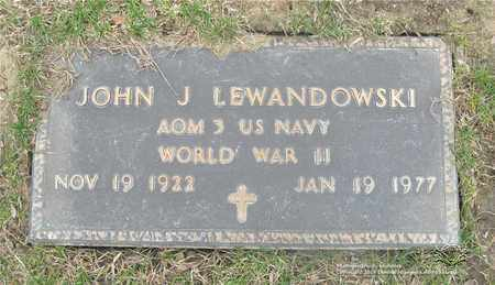 LEWANDOWSKI, JOHN J. - Lucas County, Ohio | JOHN J. LEWANDOWSKI - Ohio Gravestone Photos