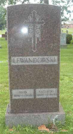 LEWANDOWSKI, KATHRINE - Lucas County, Ohio | KATHRINE LEWANDOWSKI - Ohio Gravestone Photos