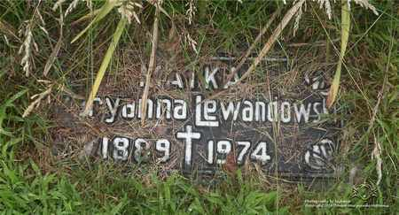 LEWANDOWSKI, MARYANNA - Lucas County, Ohio | MARYANNA LEWANDOWSKI - Ohio Gravestone Photos
