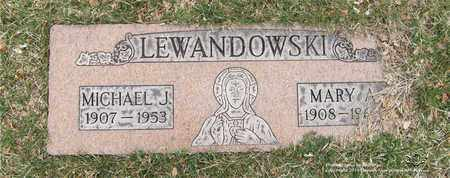 LEWANDOWSKI, MICHAEL J. - Lucas County, Ohio | MICHAEL J. LEWANDOWSKI - Ohio Gravestone Photos