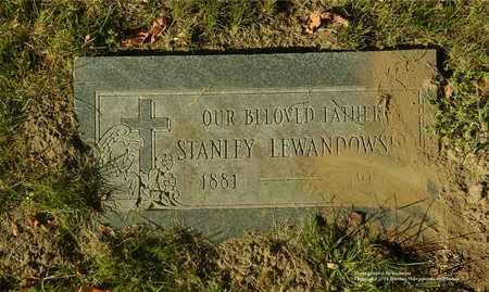 LEWANDOWSKI, STANLEY - Lucas County, Ohio | STANLEY LEWANDOWSKI - Ohio Gravestone Photos
