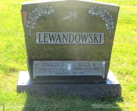 LEWANDOWSKI, STANLEY F. - Lucas County, Ohio | STANLEY F. LEWANDOWSKI - Ohio Gravestone Photos