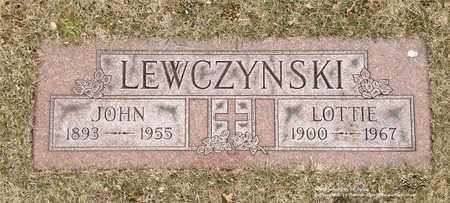 LEWCZYNSKI, LOTTIE - Lucas County, Ohio | LOTTIE LEWCZYNSKI - Ohio Gravestone Photos