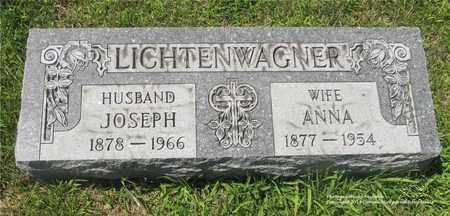 LICHTENWAGNER, JOSEPH - Lucas County, Ohio | JOSEPH LICHTENWAGNER - Ohio Gravestone Photos