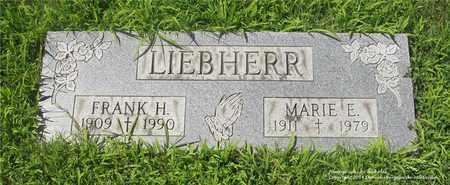LIEBHERR, MARIE E. - Lucas County, Ohio | MARIE E. LIEBHERR - Ohio Gravestone Photos