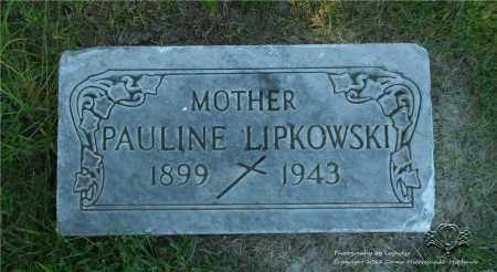 GALANT LIPKOWSKI, PAULINE (PELAGIA) - Lucas County, Ohio | PAULINE (PELAGIA) GALANT LIPKOWSKI - Ohio Gravestone Photos
