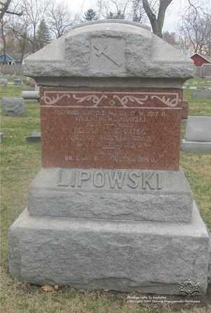 GAWRONSKI LIPOWSKI, HELENA - Lucas County, Ohio | HELENA GAWRONSKI LIPOWSKI - Ohio Gravestone Photos