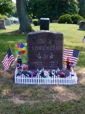 LORENZEN, CARL - Lucas County, Ohio | CARL LORENZEN - Ohio Gravestone Photos