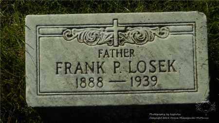 LOSEK, FRANK P. - Lucas County, Ohio | FRANK P. LOSEK - Ohio Gravestone Photos