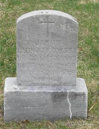 LUBIATOWSKI, JAKUB - Lucas County, Ohio | JAKUB LUBIATOWSKI - Ohio Gravestone Photos