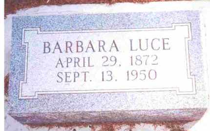 LUCE, BARBARA LUCIA? - Lucas County, Ohio | BARBARA LUCIA? LUCE - Ohio Gravestone Photos