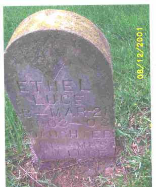 LUCE, ETHEL MAY - Lucas County, Ohio | ETHEL MAY LUCE - Ohio Gravestone Photos