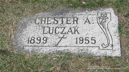 LUCZAK, CHESTER - Lucas County, Ohio | CHESTER LUCZAK - Ohio Gravestone Photos