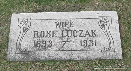 LUCZAK, ROSE - Lucas County, Ohio | ROSE LUCZAK - Ohio Gravestone Photos