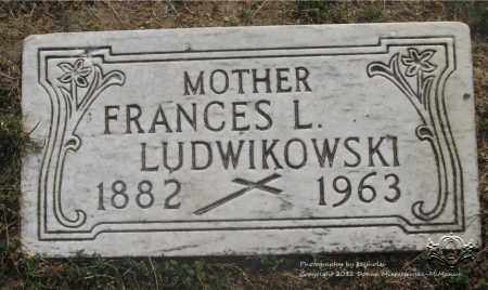 LUDWIKOWSKI, FRANCES L. - Lucas County, Ohio | FRANCES L. LUDWIKOWSKI - Ohio Gravestone Photos