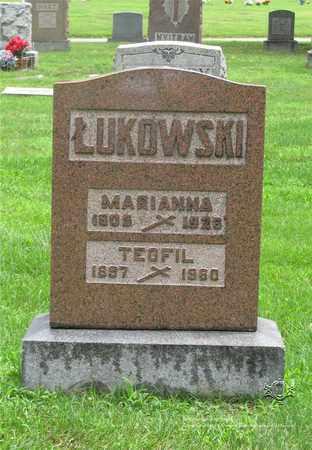 KUSINA LUKOWSKI, MARIANNA - Lucas County, Ohio | MARIANNA KUSINA LUKOWSKI - Ohio Gravestone Photos